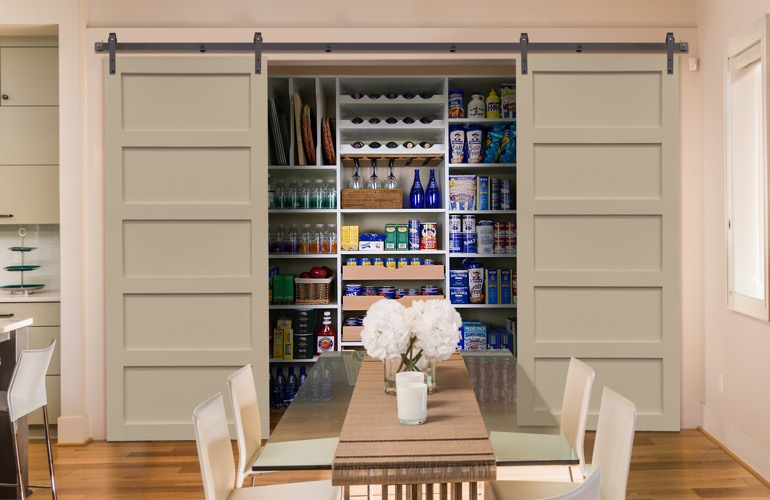 Pantry Sliding Barn Doors In Raleigh, NC
