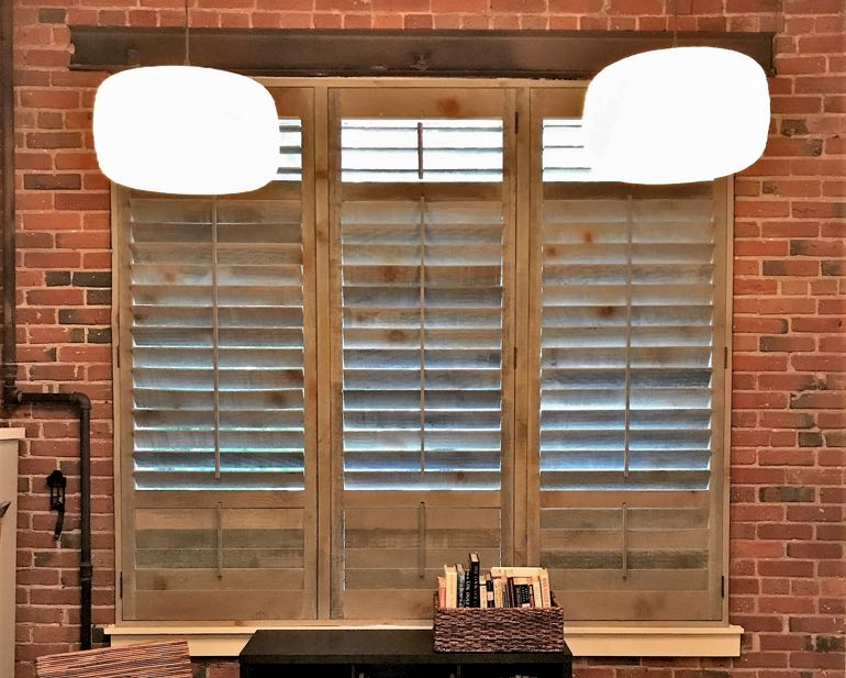 Reclaimed Wood Shutters In Raleigh, NC
