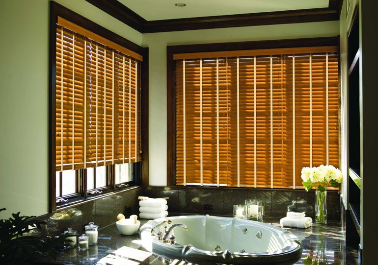 Raleigh bathroom blinds