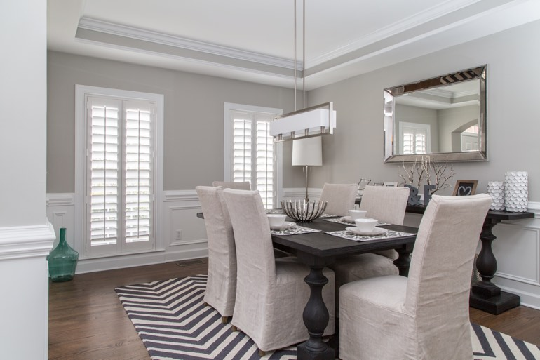 Raleigh dining room design