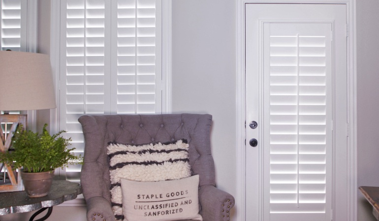 Plantation shutters in Raleigh