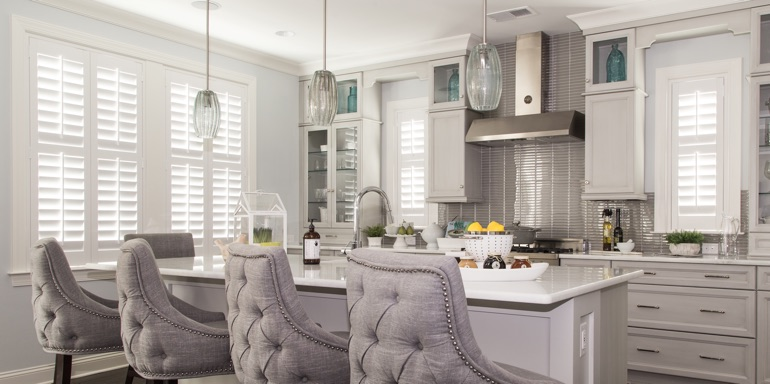 Raleigh kitchen shutters