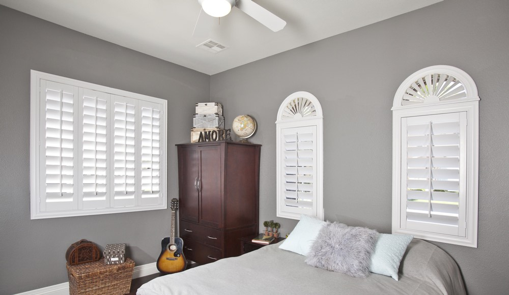 Polywood Shutters In A Raleigh Bedroom