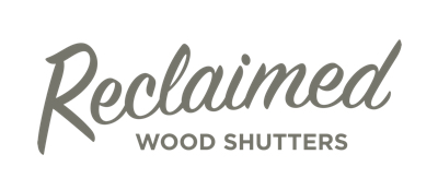 Raleigh reclaimed wood shutters