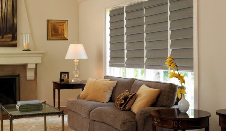 Roman Shades In Raleigh, NC