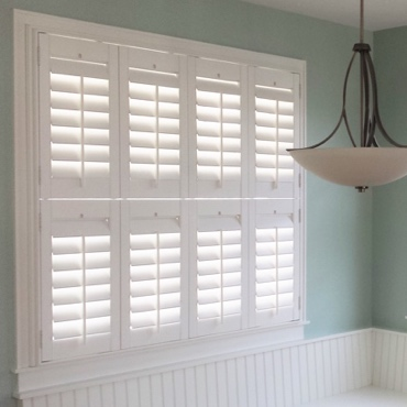 Raleigh Studio Plantation Shutters