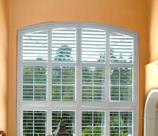 Arched Window Shutters In Raleigh, NC