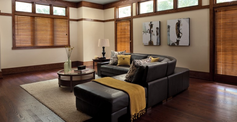 Raleigh hardwood floor and blinds