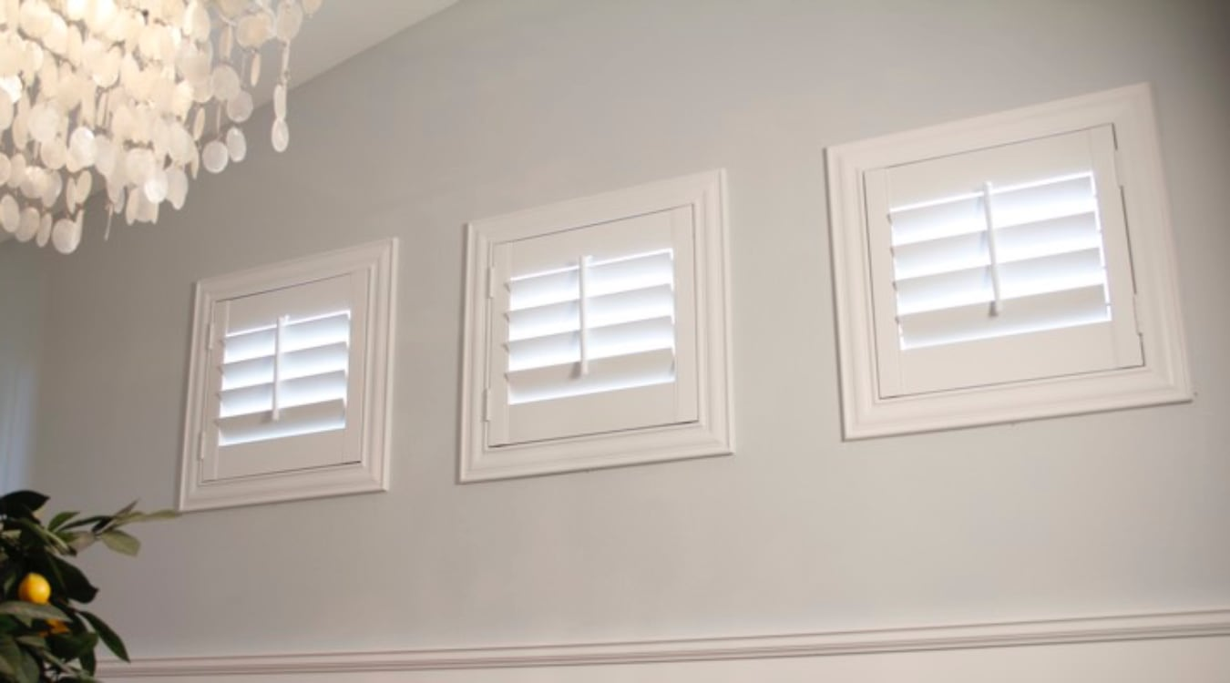 Raleigh small window shutters