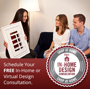 Schedule a shutter consultation in Raleigh