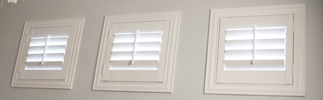 Raleigh casement window shutter.